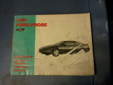 1991 FORD PROBE ELECTRICAL VACUUM TROUBLESHOOTING MANUAL