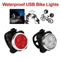 Taillights Front LED Lamp White mv-Tek bike lighting
