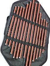 13 Turkish Woodwind PLASTIC Kaval All Sizes Set