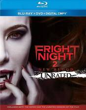 Fright Night 2: New Blood (Blu-ray/DVD, 2013, 2-Disc Set, Unrated) NEW!