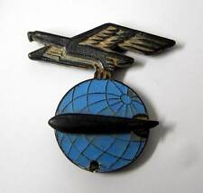 Nazi Period 1936 to 1937 Zeppelin Officers Cap Hat Badge Air Ship Pre WW2 WWII