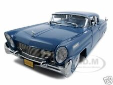 1958 LINCOLN CONTINENTAL MK III BLUE PLATINUM ED 1:18 MODEL CAR BY SUNSTAR 4712