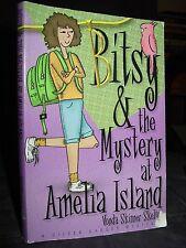 Bitsy & The Mystery At Amelia Island, Florida, Nancy Drew Type, Author Signed