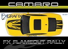 2010 - 2013 Chevrolet Camaro Flameout Rally Racing Custom Stripe Kit #1 Quality