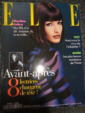 Vintage French Elle /1997 Jean-Paul Goude Annie Girardot John Galliano Bardot