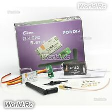 Corona 2.4Ghz CT8Z hágalo usted mismo Módulo & CR8D 2.4GHz DSSS 8CH Receptor Para R/C Modelo