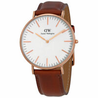 Original Daniel Wellington Classic St Mawes rose 40mm DW00100006 NEU