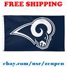 Deluxe Los Angeles Rams Team Logo Flag Banner 3x5 ft NFL Football 2019 NEW