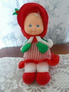 Vintage Fisher Price Puffalump Girl Christmas Plush 1992 Doll 12""