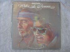WILLIE NELSON & RONNIE MILSAP ~ BALLADS  VINYL RECORD LP / 1984