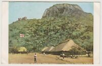 Central Africa postcard - Universities' Masasi Mission Station - P/U (A59)