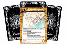 BATTLE SPIRITS: 20 CARTE IN ITALIANO SERIE 2 - LOTTO FONTANA DELLA GUARIGIONE