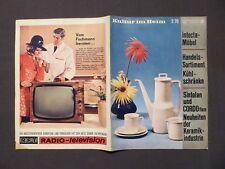 DDR Zeitschrift Kultur im Heim Nr.2 von 1970 Innenarchitektur, Möbel, Design