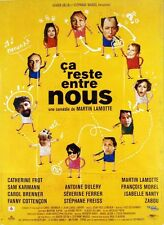 Affiche 120x160cm CA RESTE ENTRE NOUS 1998  Lamotte - Catherine Frot, Cottençon