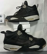 Nike AIR JORDAN 4 IV OREO LS RETRO OG 23,314254-003, Black/Cement, Men's Size 12
