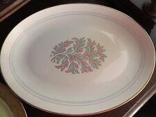 "FRANCISCAN POTTERY ROSSMORE Large Serving Platter, Mint, 12"" x 16"""