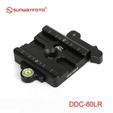 """Sunwayfoto lever-Release Clamp DDC-60LR Arca Compatible Screw hole UNC3/8"""""""