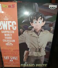 DRAGON BALL Z BWFC SON GOKU COLOSSEUM 2 - VOL 4 PVC STATUE 18 CM