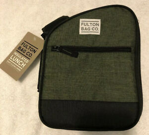Fulton Bag Co. Insulated Lunch Bag New W/Tags