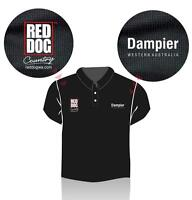 Red Dog Dampier Polo Shirt - size 5XL