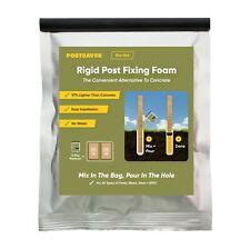 Postcrete Concrete Postsaver Proset Rapid Post-Fix Resin 1 pack=2 bags Concrete
