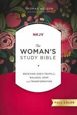 The NKJV Woman's Study Bible, Hardcover, Full Color BRAND NEW!!!