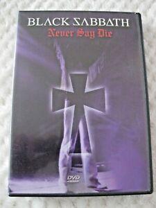 Black Sabbath - Never Say Die - 2003 DVD