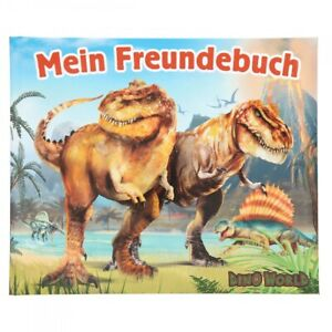 Dino World Freundebuch Freundschaftsbuch Schule Kindergarten Freunde Jungen NEU