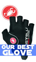 Castelli Rosso Corsa Pro Unisex Cycling Gloves : OUR BEST GLOVE : SEE VIDEO