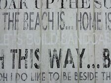 Fryetts Boardwalk Linen Seaside Curtain Upholstery Craft Fabric