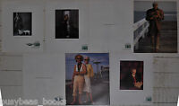 1988-89 AMERICAN EXPRESS adverts x5, Neil Simon Al Hirschfeld Jessica Tandy etc