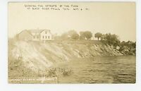 """""""Effects of the Flood"""" Black River Falls RPPC Geomorphology Geology Photo 1911"""