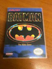 Batman Sunsoft NES Nintendo Entertainment System Retro Universal Game Box Repro