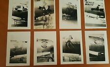 WWII PHOTO LOT OF 100 B-29 BOMBERS NOSE ART PACIFIC GREAT SHOTS LOOK