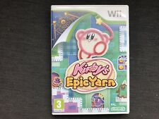 Kirby's Epic Yarn Wii Complete with Manual