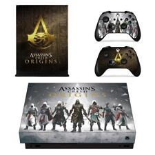 Xbox one X Console Assassin's Creed Origins Vinyl Skin Decal Sticker Cover Wraps
