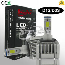 D1S D3S Coche CREE LED Headlight Faro Bombillas Conversión Kit Fog Lámpara