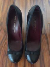 BRAND NEW Marc Jacobs black tie bow toe classic high heel shoes Sz EU 38