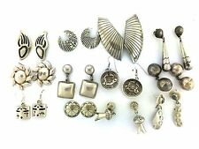 Sterling Silver Native American Mexico Styles MIXED LOT Post Earrings