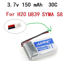 3.7v 150mah 30C For H20 LIPO Battery jjrc U839 SYMA S8 RC Quadcopter Spare parts