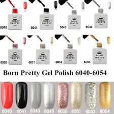 8stk/set 10ml UV Gel Lack BORN PRETTY Nagel Kunst Soak Off Nagellack #6040-6054