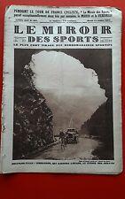 Le Miroir des Sports 381 du 12/07/1927