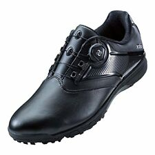ASICS x Dunlop Golf Spikeless Shoes GEL-TUSK 2 BOA TGN921 Black US7.5(25.5cm)
