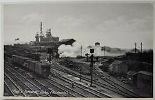 Lloyd's Furnaces, Corby. (Northants). Postcard.