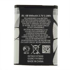 New 3.7V 890 mAh BL-5B BL5B Battery For Nokia N90 3230 5300 5070 6121 6080 MC