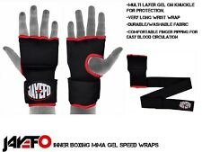Boxing Mma Gel Shock Quick Wraps Speed Hand Muay Thai Inner Bandages Glove Pair