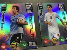 Panini Adrenalyn XL FIFA World Cup 2010. Lugano & Zigic, Fans' Favourites Cards