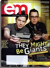 EM Electronic Musician - 2008, March - They Might Be Giants Interview!