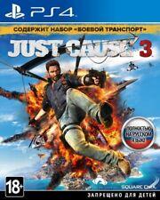 *NEW* Just Cause 3 (PS4, 2017) Russian, English, Polish