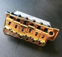 Genuine Fender American Vintage SRV Strat Left-Handed Tremolo Bridge - GOLD